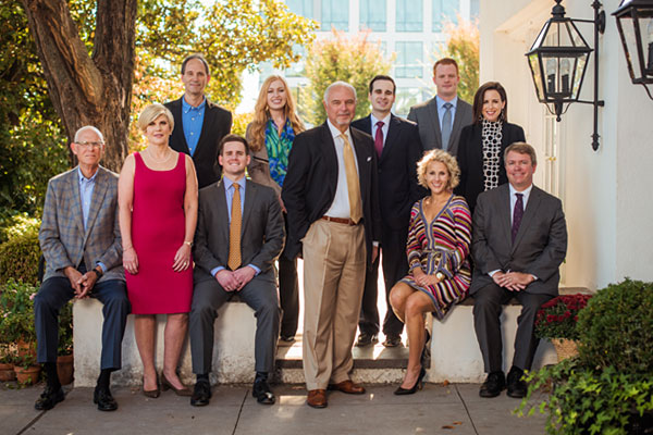 Group photo of Allman Spry Law Firm Winston-Salem, NC Lawyers
